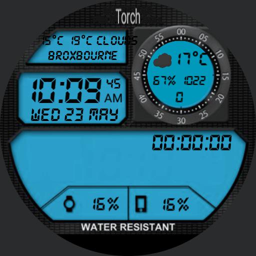 Digital Retro Watch