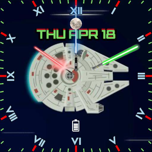 Star Wars M. F.2 Square Face  Copy