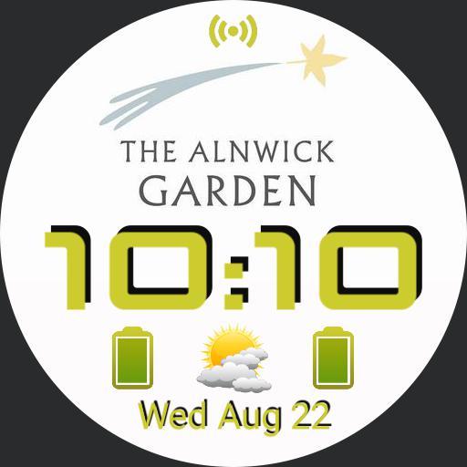 The Alnwick Garden Face