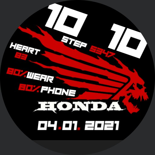 honda logo gost parallax Copy