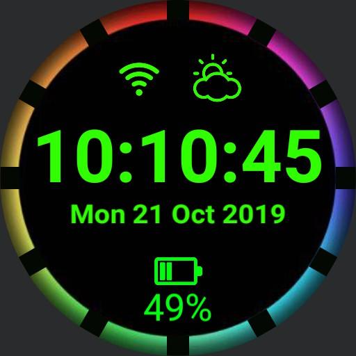 Simplistic RGB Watch Design