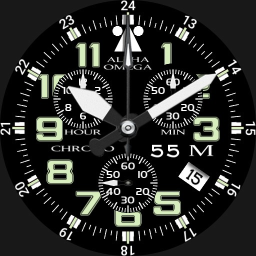CHRONO III white
