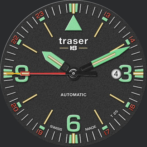 Traser P67 Officer Pro Automatic Black - #108075