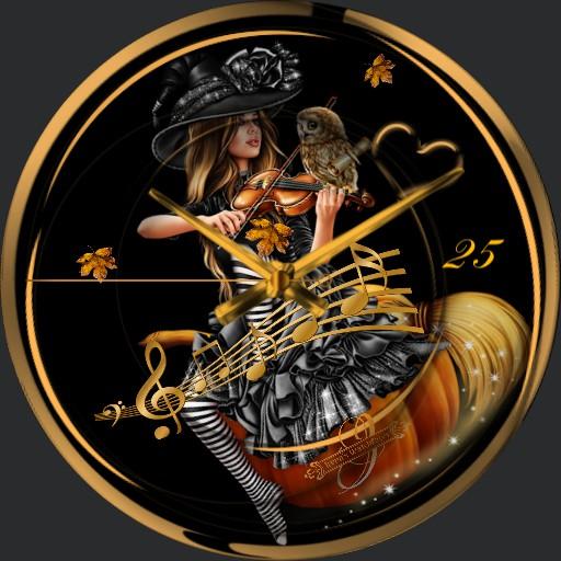Herbst Halloween Animation
