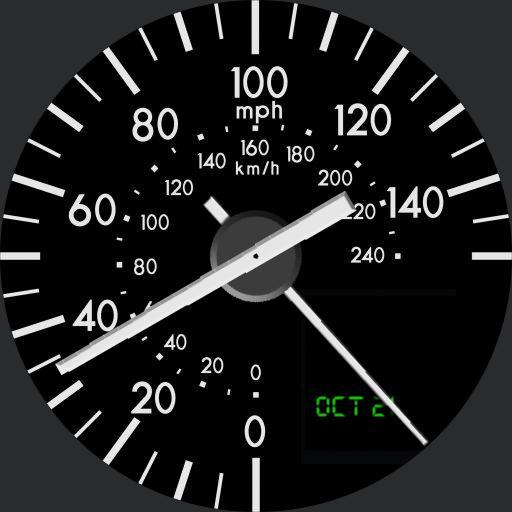 Mazda MX-5, Nc Speedometer