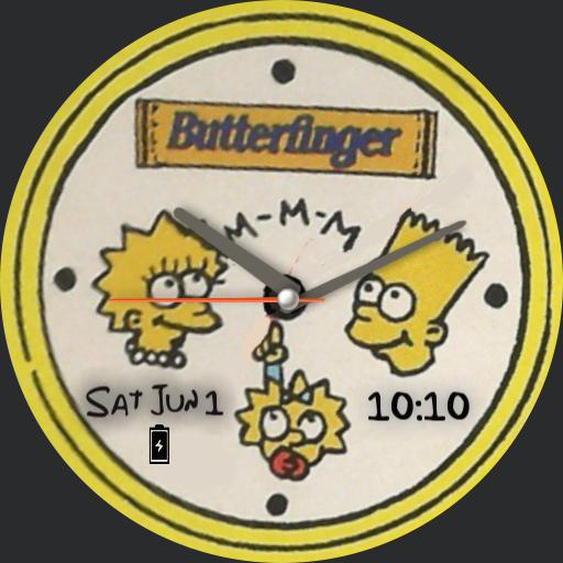 Simpsons Butterfinger
