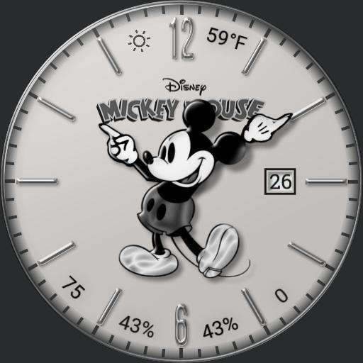 Enhanced Mickey Mouse