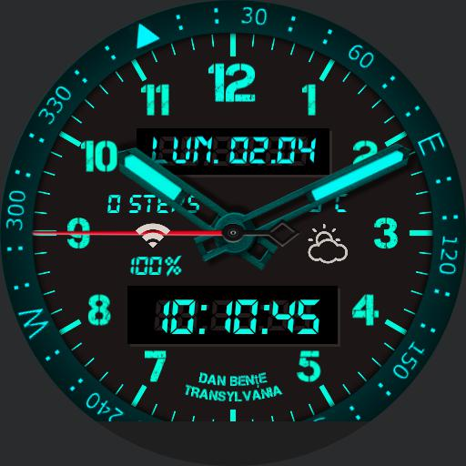 compas watch neon.