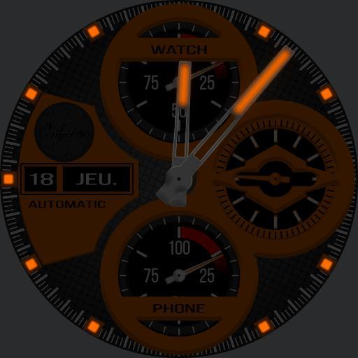 Inferno Mark I Orange Ed.