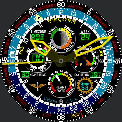 Pilot Calendar Gear S3 v2