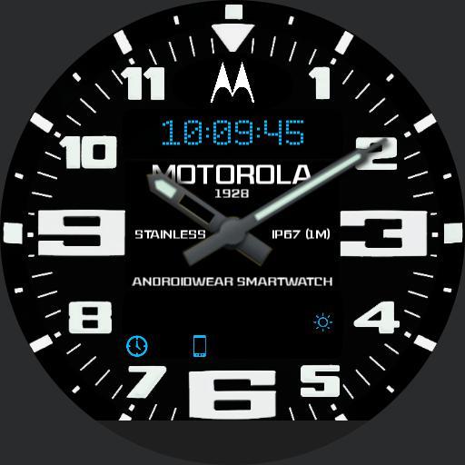 Motorola Emergency Blue
