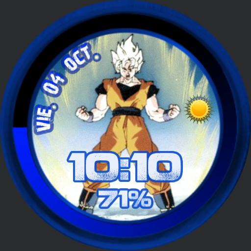 Goku Super sayan Dragon ball Blue