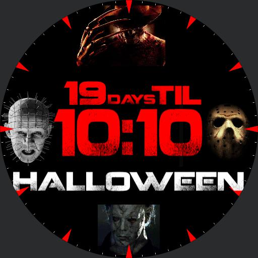 Halloween Countdown Watch