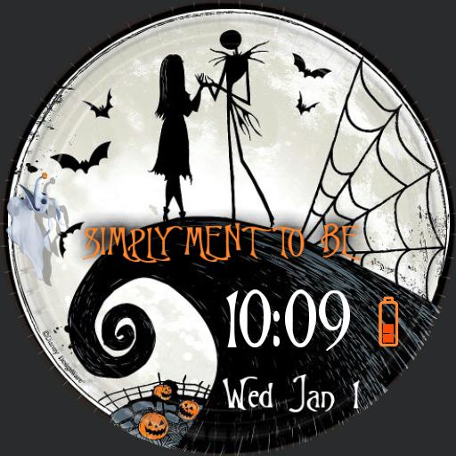 Nightmare Before Christmas  - Square watch face Copy