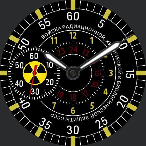 Russian radioactive watch