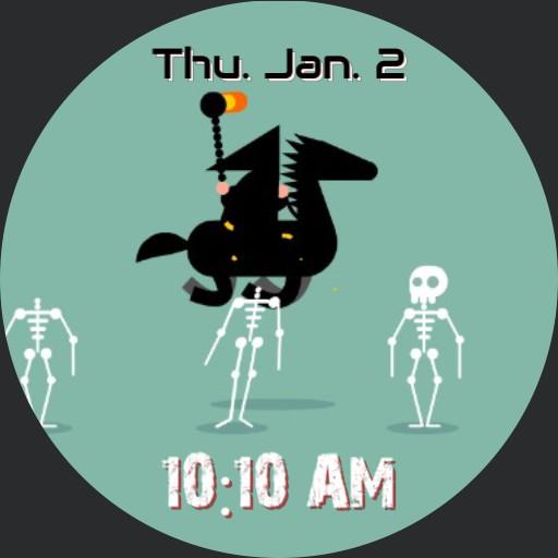 Skeleton animation