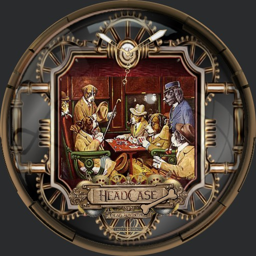 Steampunk Dog Poker