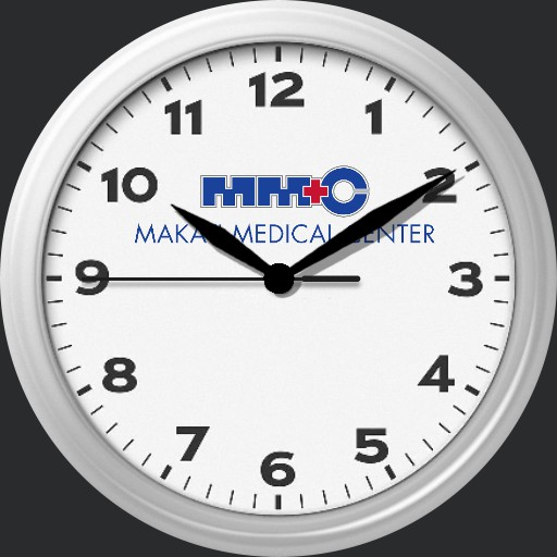 Makati Medical Center Wallclock