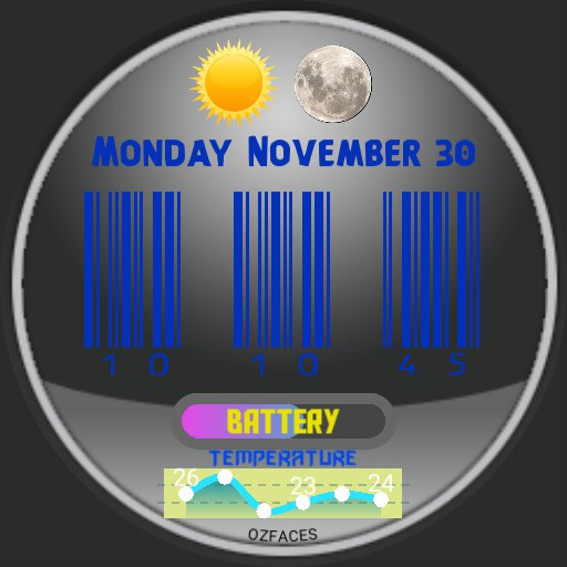 Barcode Watch
