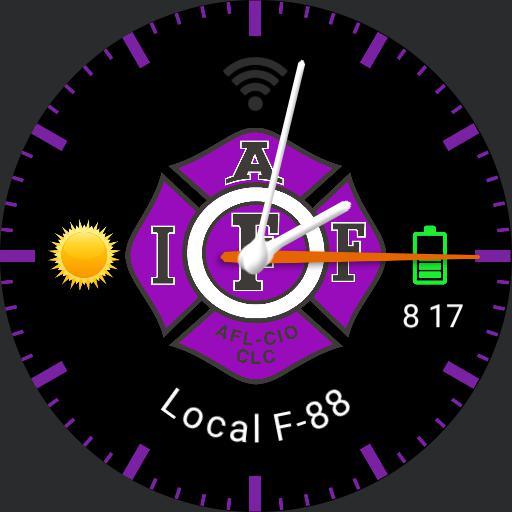 IAFF purple