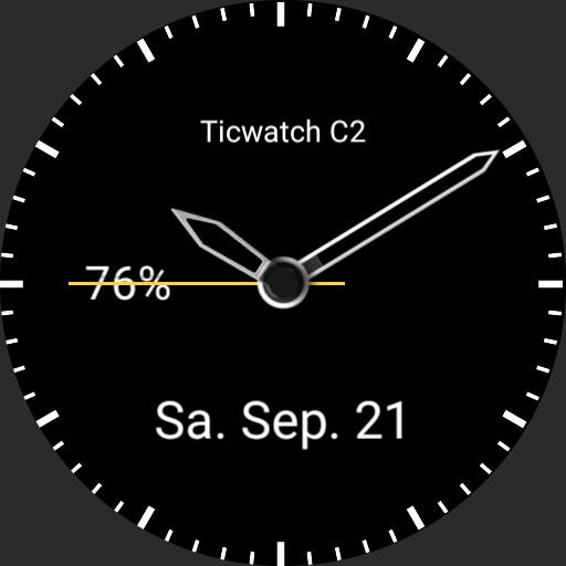 Ticwatch C 2 Tag/Nacht Copy