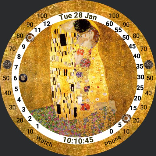Art Watch - Klimt - The Kiss