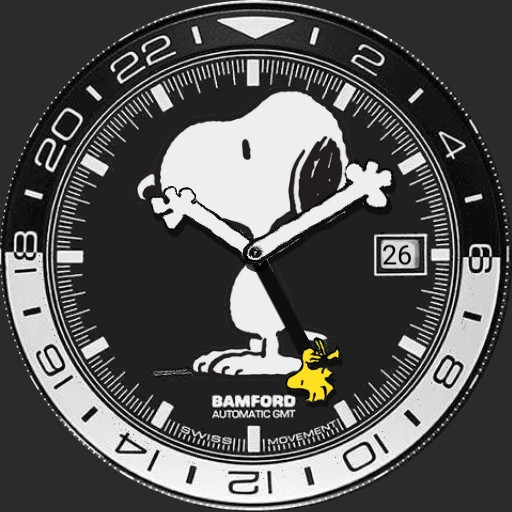 Bamford London 70th Anniversary Snoopy GMT