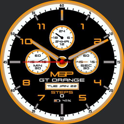 ParkerLM GT orange