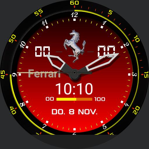 Ferrari Black/Red