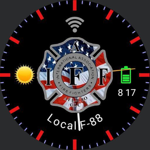 IAFF USA Grey