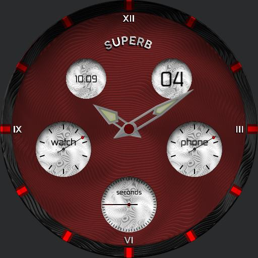 Superb Watch Red Edition