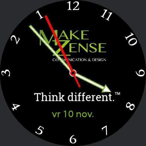MakeZense think different