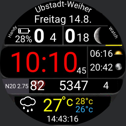 Weather Check - km - 2.75 N20