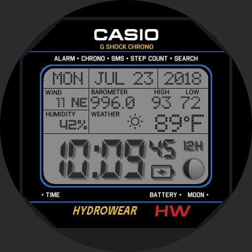 KASSAR 12H Digital w/Weather, original design by Kassar, EDITED
