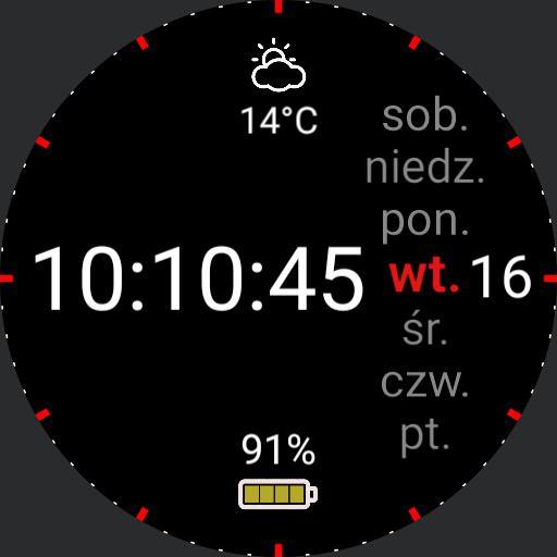S3 Red Modern