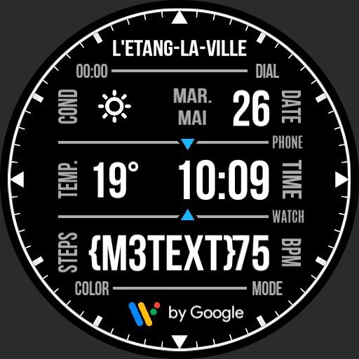 Benolf Ticwatch Wear OS grid