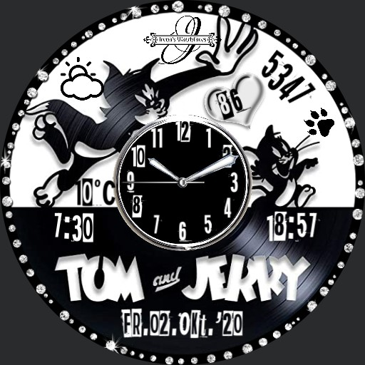 Tom and Jerry  Black White