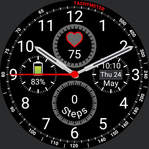 Samsung Gear S3 Frontier Mod 2 - 4 chronograph