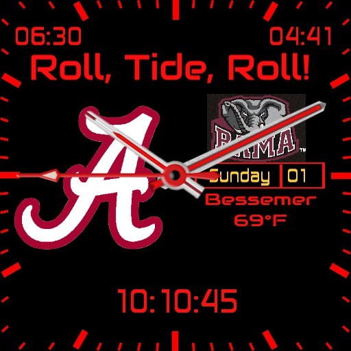 2019 Iron Bowl Watch MK IlA