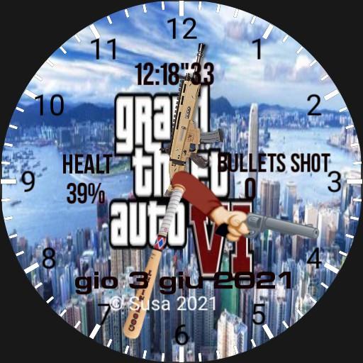 GTA VI Clock