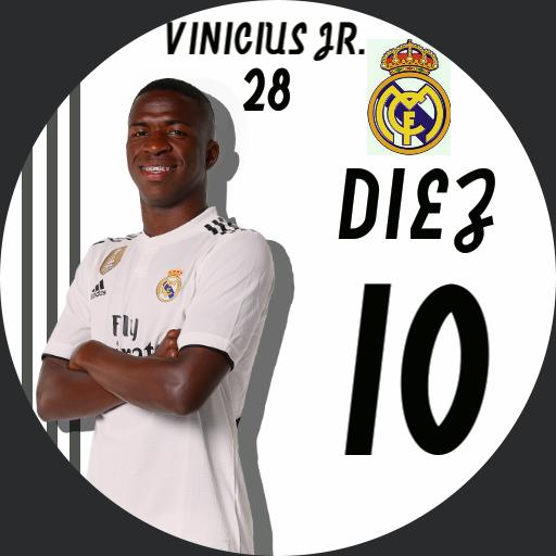 Vinicius Jr. 28. Real Madrid Football Player