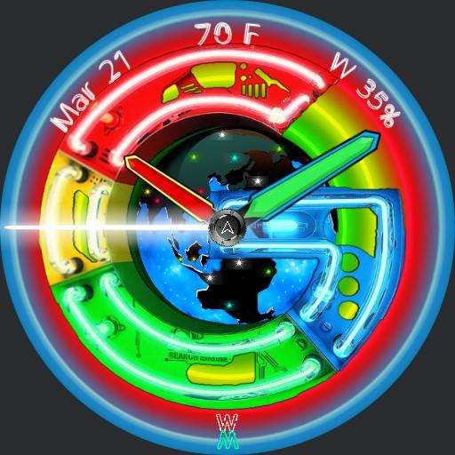 Hey Google - Neon World