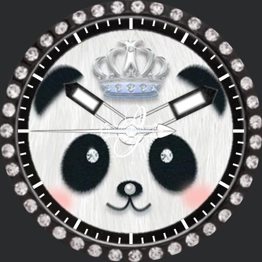 Diamanten Panda