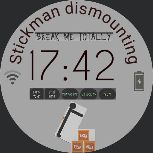 Stickman dismounting Watch