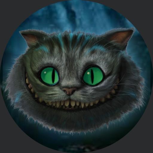 Blinking Cheshire Cat, SWade