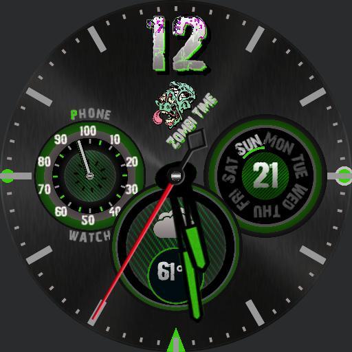 Zombi Time multicolor