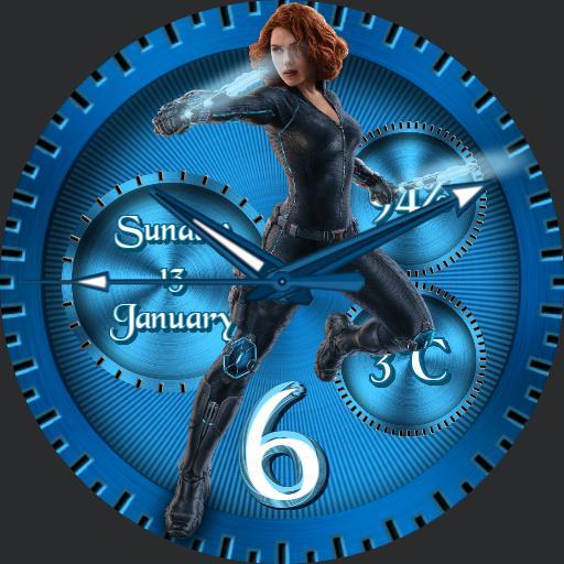 Black Widow JBBW3D060119