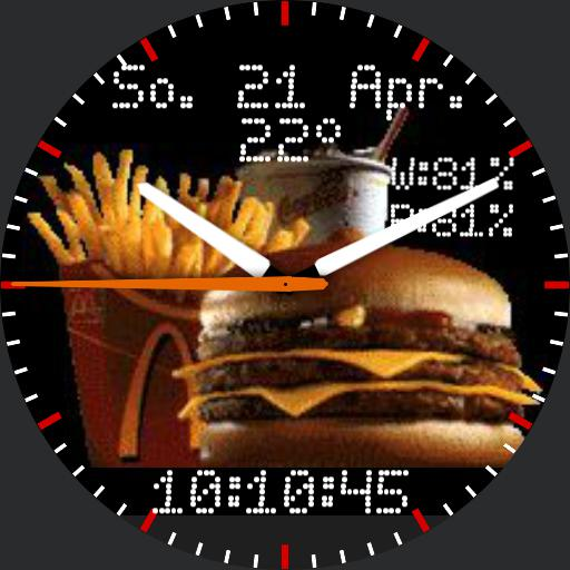 Mc donalds WM Mac 98 watch