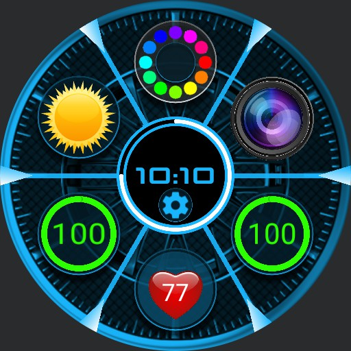 salon space futur widget anim v3