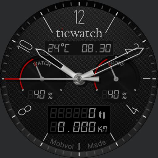 Ticwatch W1 Red